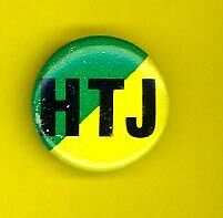 Stevie Wonder 1980 Hotter ThanJuly badge button pinback