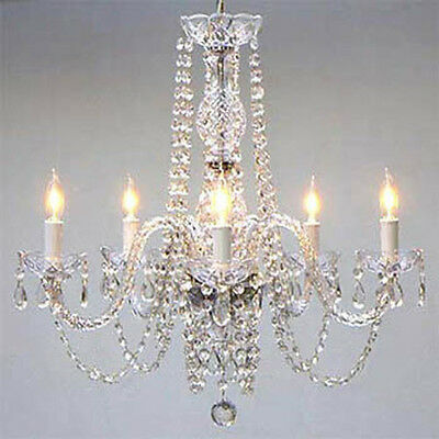 Authentic All Crystal Chandelier Chandeliers