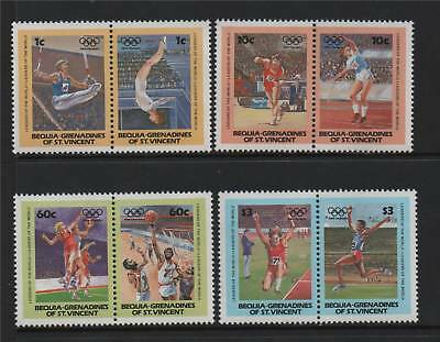 Bequia 1984 Olympic Games MNH