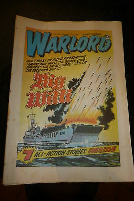 WARLORD Comic - Issue 330 - Date 17/01/1981 - UK Paper Comic