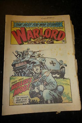 WARLORD Comic - Issue 368 - Date 10/10/1981 - UK Paper Comic