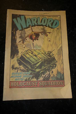 WARLORD Comic - Issue 373 - Date 14/11/1981 - UK Paper Comic