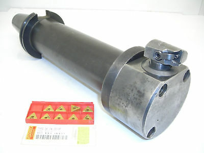 """COMPLETE USED CAT50 DEVLIEG Microbore BORING ASSEMBLY 5.12""""-6.16"""" CV CT 50"""