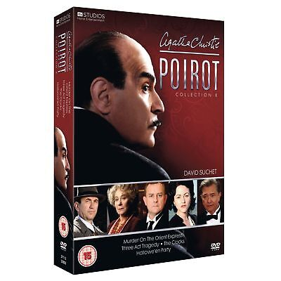 POIROT Collection 8 SEALED/NEW dvds series/season/volume 8th set   5037115328038