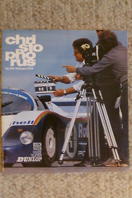 Porsche Christophorus Magazine English #169 February 1984 RARE!! Awesome L@@K
