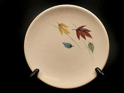 Franciscan AUTUMN Leaf Earthenware BREAD Roll Plate