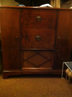 RCA Victor Wood Cabinet Vintage Record