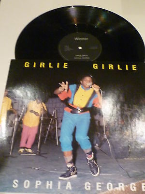 SOPHIA GEORGE - Girlie Girlie - 1985 UK 2-track 12""