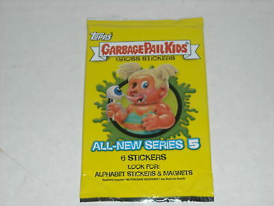 NEW TOPPS GARBAGE PAIL KIDS SERIES 5 UNOPENED PACKAGE