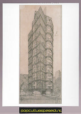 FRANK LLOYD WRIGHT St Marks in the Bouwerie POSTCARD