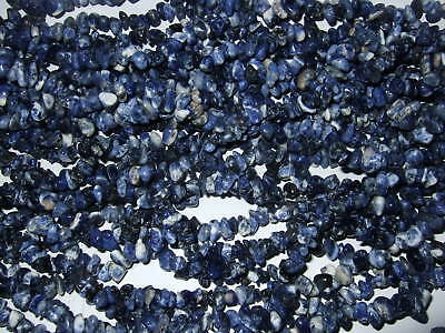 Pietre Dure Forate - chips - 100 pz - SODALITE