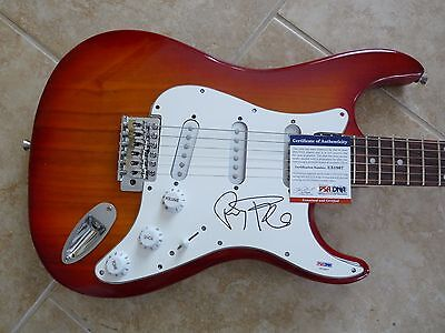 Perry Farrell Janes Addiction IP Signed Autographed Guitar PSA Certified