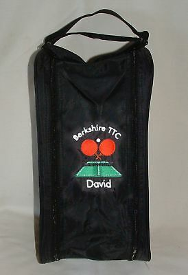 Personalised Table Tennis Shoe Bag - Embroidered