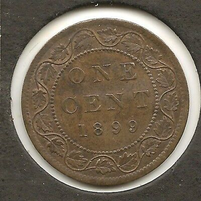 1899 ALMOST UNCIRCULATED Canadian Large Cent Reduced!