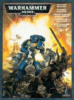 Distaccamento Space Marine - Battleforce WARHAMMER 40K 40000 Citadel
