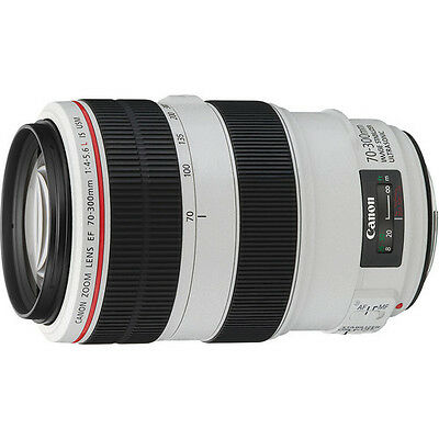Canon EF 70-300mm f/4-5.6L IS USM Telephoto Lens - NEW!