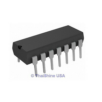 5 x CD4030 4030 Quad Exclusive OR Gate IC - TEXAS