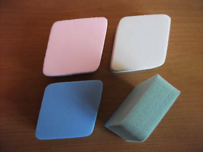 Good Quality Pack Of 4 Extra Thick Make Up Sponges