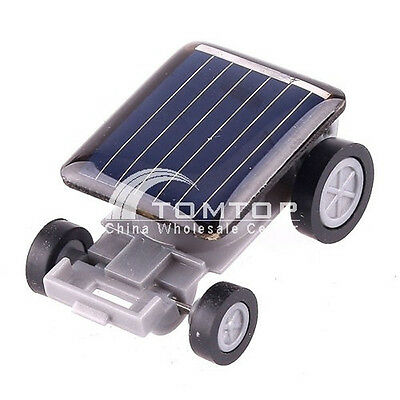 Mini Solar Powered Robot Racing Car Toy For Kids Gifts