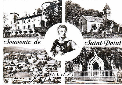 Cpsm Souvenir De Saint Point