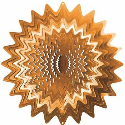 "Iron Stop 10""/25cm Large COPPER SPLASH Classic Wind Spinner - 1290-10-3"