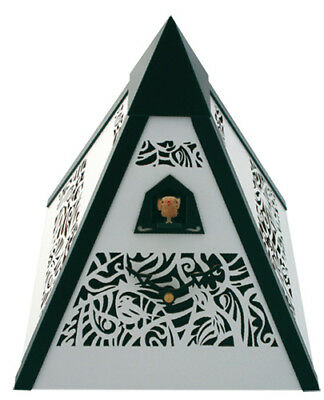 Design Black Forest Pyramid Table Cuckoo Clock New