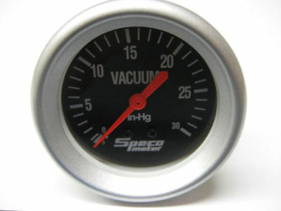 """VACUUM GAUGE Hg 2 5/8"""" - INCLUDES MOUNTING KIT ONE LEFT !"""