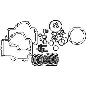 PTO Gasket Disc Piston Kit For International 986 1026 1066 1086 1206 1256