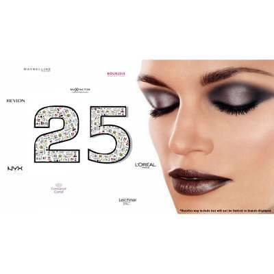 25 x Mixed Branded Make Up Wholesale Bundle