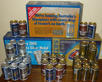 Foster`s Beer Cans-Sydney 2000 Olympic Games