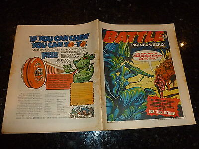 BATTLE PICTURE WEEKLY Comic - Date 22/10/1977 - UK Comic
