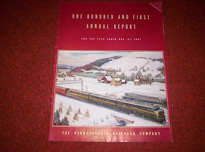 Pennsylvania Railraod Annual Report 12/31/47 101st
