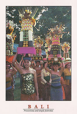 Procession to Temple Festivities    Bali Indonesia