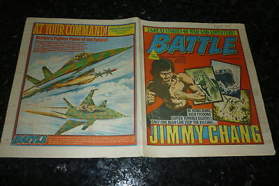 BATTLE Comic - Date 15/01/1983 - UK Paper Comic