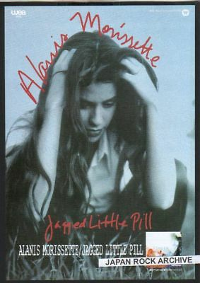 1995 ALANIS MORISSETTE Jagged Pill JAPAN PROMO PHOTO AD