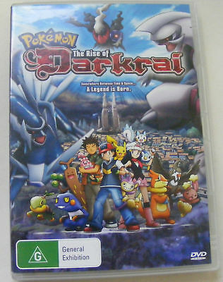 Pokemon The Rise Of Darkrai DVD