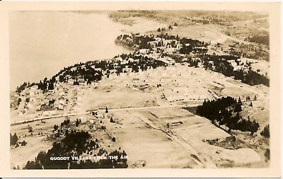 View From the Air Quoddy Village ME RP Postcard