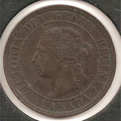 1901 EXTREMELY FINE Canadian Large Cent #7 Reduced!