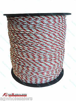 Poly Rope 200M Premium 4Mm Ultra Low Resistance - Electric Fence Polyrope Wire