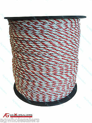 Poly Rope 500M Premium 4Mm - Electric Fence Polyrope