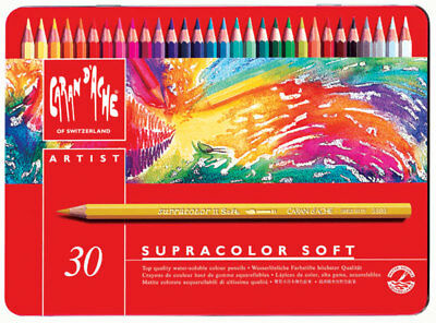 Caran D'ache Supracolor Watercolour Pencil 30 Color Tin