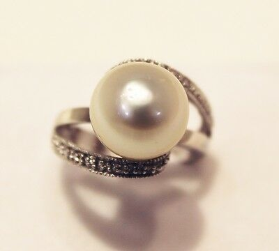 $3000 12mm Stunning South Sea Pearl Ring