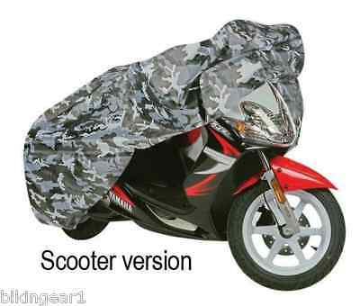 Oxford Motorcycle Aquatex Camo Waterproof Rain Dust Cover Scooter Small