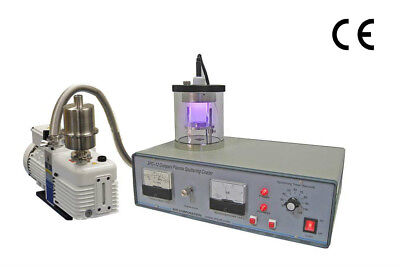 Mini Plasma Sputtering Coater with Vacuum Pump & Gold Target