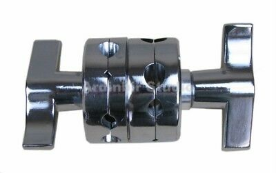 All Metal Light Stand Double Dual Grip Gobo Head Clamp