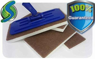 InstantErase Sponge Mop Floor Cleaning Pads (8 Pack)- Compare to Magic Eraser®
