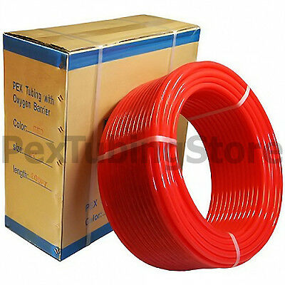 """(4) 1/2"""" x 300ft PEX Tubing O2 Oxy Barrier Radiant Heat"""