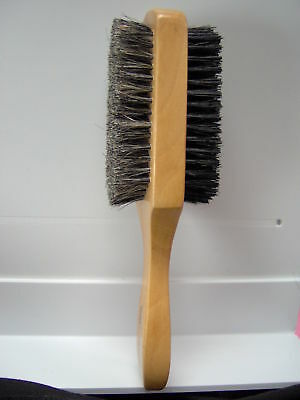 soft & hard BRISTLE WAVE HAIR BRUSH durag MAN wood
