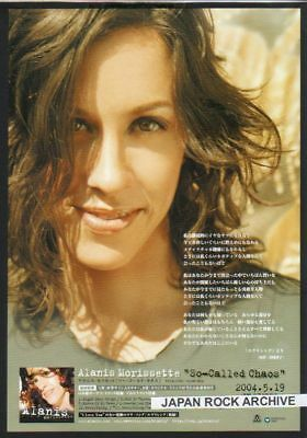 '04 ALANIS MORISSETTE So-Called JAPAN promo photo AD
