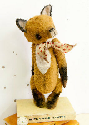 Mohair Bear/Fox Pattern 9.5 inch
